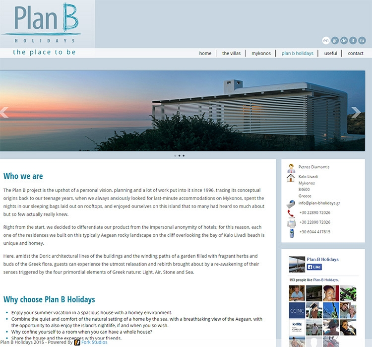 Plan B Holidays